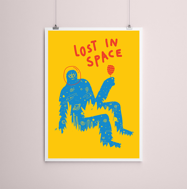 Lost in Space Marlene Canto ambiente 2